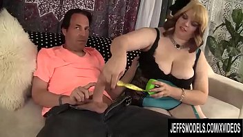 Naked fat tits Fat hoochie buxom bella measures a dick before deciding to fuck and suck it