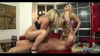 Mom and daughter threesome 0550