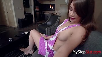 Kayla Paris Gives Daddy A Harmless BJ while Sleeping on his lap