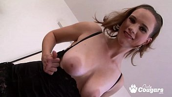MILF Lets A Lucky Black Man Fuck Her Big Squishy Tits!