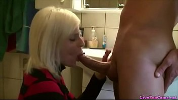 Blondie whore bathroom fuck