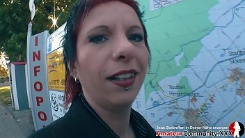 Naughty MILF picked up at train station
