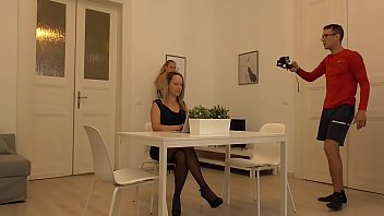 REAL BTS of me filming and the start of a new production. Blue Angel and Linda Leclair Teasing and pleasing