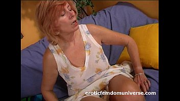 Mature universe Mature granny fucks herself deep