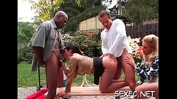 Insolent playgirl love the dick in their cramped pussies