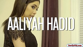 Aliyah Hadid baned by huge black dick