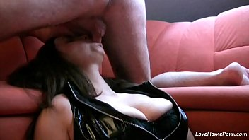 Sucking a breast - Face fucking her is my favorite sport