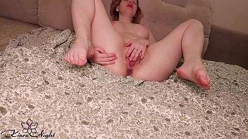 Babe Massage Big Boobs and Fingering Pussy after Work