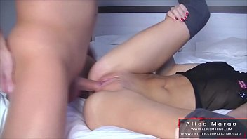 Hard Amateur DoggyStyle With Cum On Her Butt! AliceMargo.com