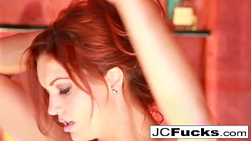 Amazing bathtub solo with gorgeous redhead Jayden