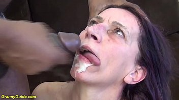 ugly 69 years old mom first brutal interracial