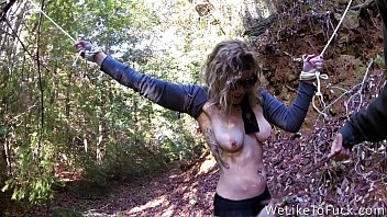 Sen jin fetish Punishing some bitch in the forest and fucking her senseless