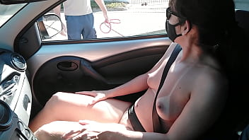 """Raquel naked with her pussy and breasts out asking for information and wanting to suck the cock of strangers """"Complete on RED"""""""