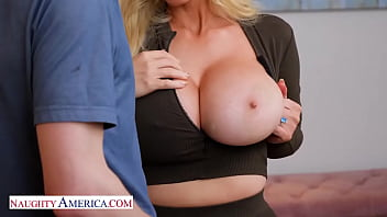 Naughty America - Sexy Casca Akashova likes to fuck and suck on young cock