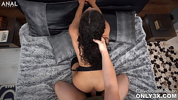 Only3x (Just Anal) brings you - Only3x Brings you - Curly haired beauty Liv Revamped getting shagged on her asshole