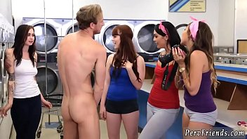 Hairy teen party Laundry Day 8分钟