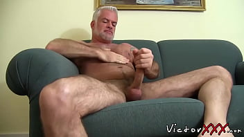 Big gay hairy dicks - Hairy jake marshall daddy in solo masturbation action