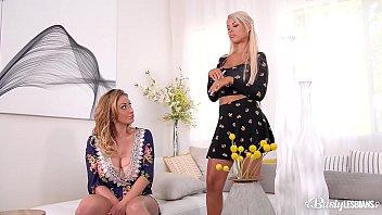 Busty Lesbian beauties Eva Notty & Bridgette B. crave orgasm with sex toys