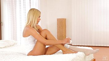 Nubile Films - Blonde self seduction thumbnail