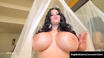 BBC Day! BBW Angelina Castro Milks A Chocolate Dark Dick!