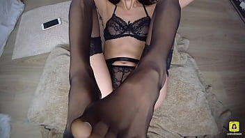 POV PETITE FUCKED IN SEXY LINGERIE   PUSSY PLAY