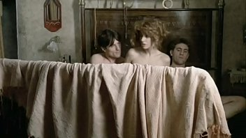Mainstream Movie 1900 (Released 1976) Featuring Female Holding Two Dicks As Well As Full Frontal Bush And Fucking.