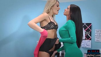 Xxx breakroom - Office babes raven bay and kenna lesbian in the breakroom
