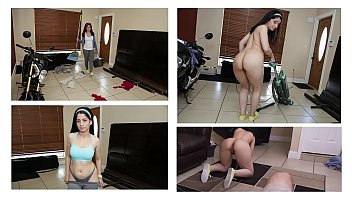 BANGBROS - Curvy Latin Maid Nadia Ali Givin' Up Dat Azz For Jmac