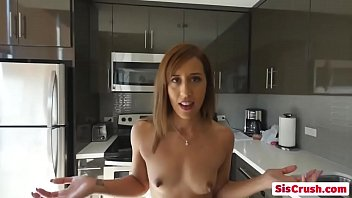 Step sis Demi gets fingered and licked by step bro