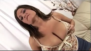 Huge tits mom waiting for son - watch more on noshygirls.com
