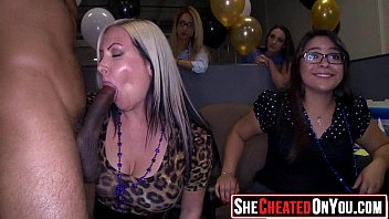 17 Sex in the club at cfnm party 34