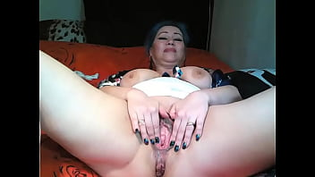 Hot mature webmodel AimeeParadise: PVT compilation. Only spread legs and a dildo and bottles in wet cunt!
