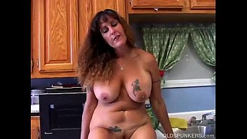 Beautiful big tits MILF is feeling horny