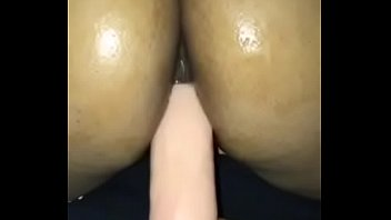 Sister caught masturbating with suction cup dildo