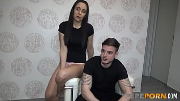 MILF Silvia definitely loves having sex with young rookies!