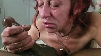Trash talking titty fucking whores on vhs Old crack whore throats bbc and sprays snot cum from nose mouth