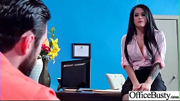 Sex In Office With Big Round Tits Girl (Katrina Jade) video-16
