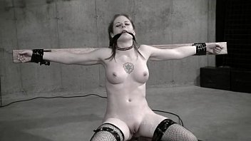 Movie slave bondage - Wasteland bondage sex movie - sexy dominatrix in white latex pt. 2
