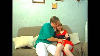 Natural russian redhead and momy