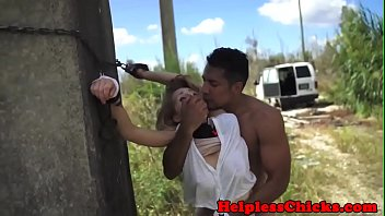 Dominated teen jizzed in mouth after roughsex