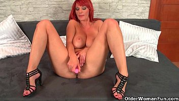 Image: Sizzling hot redhead milfs take matters into their own hands