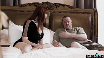 Redhead MILF Lauren Phillips sharing husbands old cock with Paisley Porter