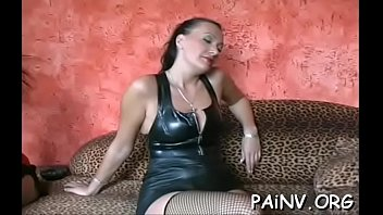 Lesbian babes in sexy torture scene