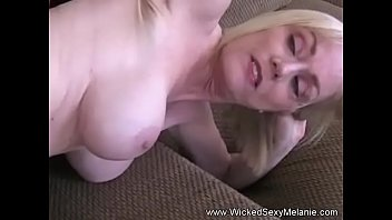 Blonde Granny Specializes In Blowjob
