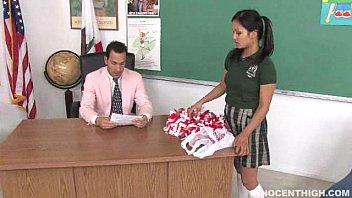 Asian cheerleaders nude pictures Cute asian cheerleader fucked and facialized by the school dean