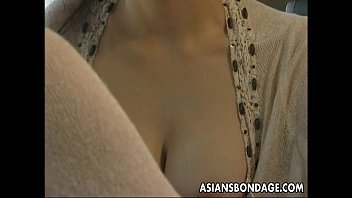 Busty Japanese gal gets bound and screwed hard 6 min