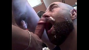 Gay load of cum - 8 loads of hot cum for the pig