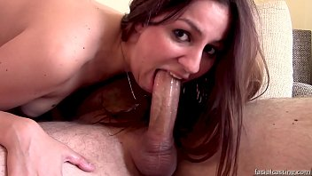 Meg Magic loves to rim, get deepthroated and covered in cum!