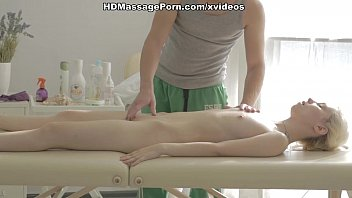 Kick-ass massage porn movie with a hot blonde scene 2