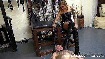 Kneel 4 Mistress Nikky - Boots Worship and French Domination
